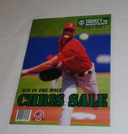 April 2017 Yawkey Way Report Red Sox Program Magazine Chris Sale Opening Day