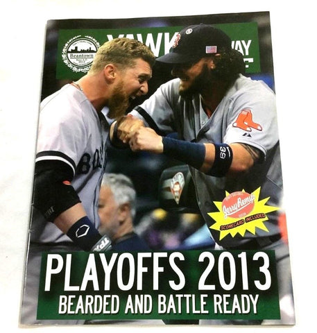 Yawkey Way Report 2013 ALCS Championship Series Boston Red Sox Tigers Program