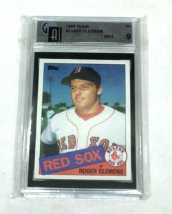 1985 Topps Baseball #181 Boston Red Sox Roger Clemens GAI 9 Rookie Not a PSA
