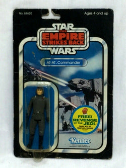 1981 Star Wars ESB Empire Strikes Back AT-AT Commander Figure 48 Back MOC Sealed