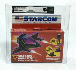 1987 Vintage Coleco Starcom Shadow Parasite MISB Sealed Boxed AFA 85 FREESHIP