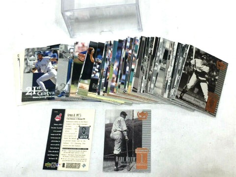 1999 Upper Deck Century Legends Complete Set 135 Card Ruth Williams Gehrig Jeter