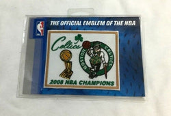 Official 2008 NBA World Champions Boston Celtics GardenTrophy Patch FREESHIP