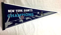 2007 Superbowl 42 World Champions New York Giants Pennant (2A) Logo FREESHIP
