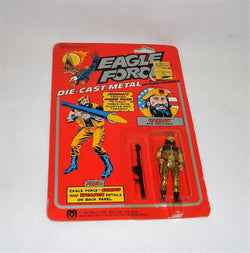 1981 Mego Eagle Force Harley Ace Mechanic DieCast Figure MOC Carded Sealed
