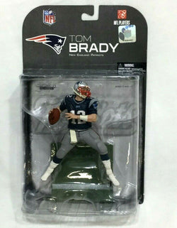 2008 McFarlane NFL Series 18 New England Patriots Tom Brady CLEAN Chase Figure