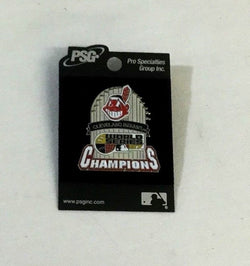 Phantom Ghost 2007 World Series Champions Cleveland Indians Trophy Pin FREESHIP