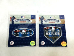 Official 2018 World Series / Post Season Jersey Patch Lot Boston Red Sox FREESHP