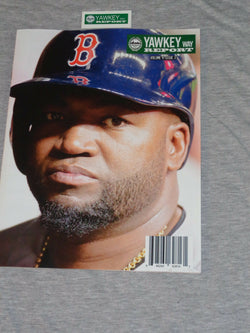 June 2016 Yawkey Way Report Boston Red Sox Program Scorecard David Ortiz Cover