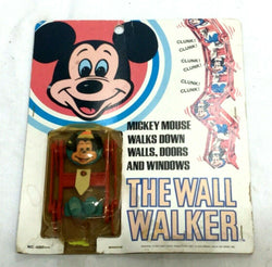 1972 Vintage Kenner Disney Mickey Mouse Wall Walker Sealed MOC Carded FREESHIP