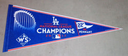 2017 World Series National League NL Champions Los Angeles Dodgers Pennant