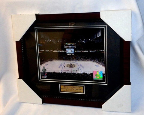Boston Bruins Garden 2011 Stanley Cup Finals Matted Framed Picture 13x16