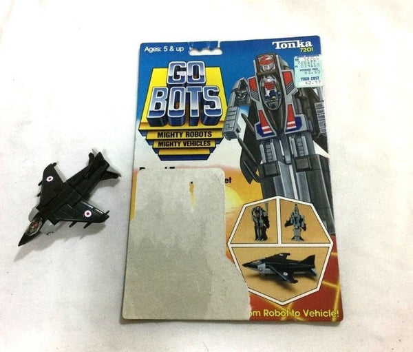 1983 Tonka Gobots Royal T Friendly Robot Harrier Jet Cardback Complete FREESHIP
