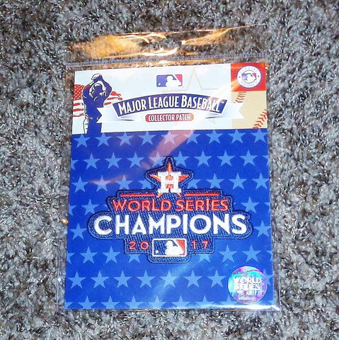 MLB Official Houston Astros 2017 World Series Champions Jersey Patch FREESHIP