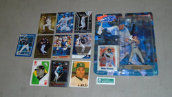 2000 Starting Lineup SLU HOF Mike Piazza Figure & Rookie Card Rc / Insert Lot