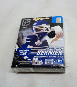 OYO Sports Toronto Maple Leafs Jonathan Bernier Goalie Player Figure Gen 1