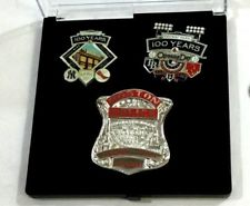 Red Sox 2012 Fenway Park 100th Anniversary Years Boston Police Badge Pin Set