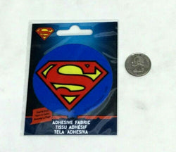 DC Comics Superman Adhesive Fabric Jersey Jacket Patch Peel & Stick FREESHIP