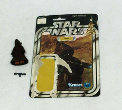 1978 Kenner Star Wars Jawa Figure Complete 12 Back Cardback Weapon FREESHIP