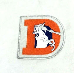 Official NFL Denver Broncos Team Logo Patch Jacket Jersey FREESHIP