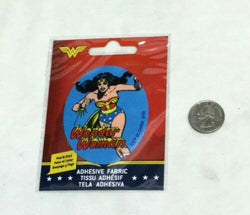 New DC Comics Wonder Women (B) Adhesive Fabric Jersey Jacket Patch Peel & Stick