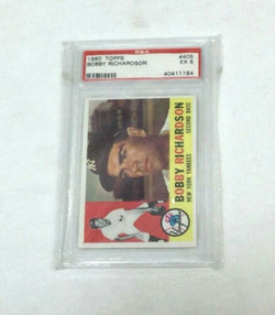 1960 Topps Baseball #405 New York Yankees Bobby Richardson PSA 5 FREESHIP