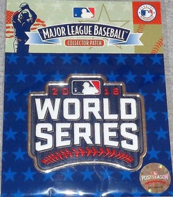 Official 2016 World Series Jersey Patch Chicago Cubs Cleveland Indians FREESHIP