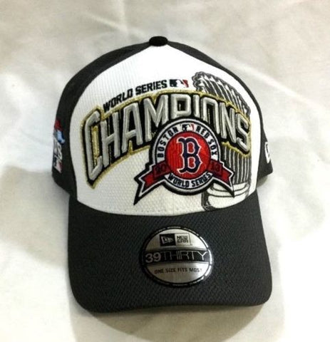 NEW 2013 World Series Champions Boston Red Sox Hat Cap Adult Size Locker Room