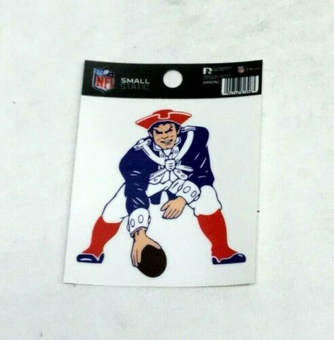 New England Patriots Retro Throwback Logo Small Static Cling Window Decal 3x4