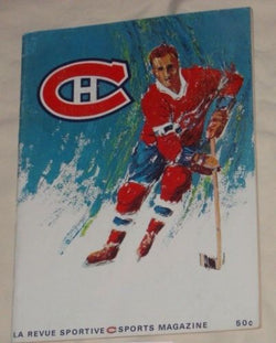 Item image 1967 / 1968 Stanley Cup Playoffs Montreal Canadiens Blackhawks Program Magazine