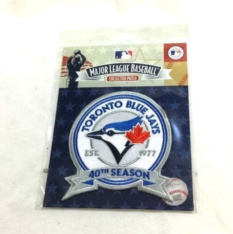 1977 to 2017 Toronto Blue Jays 40th Season Anniversary Jersey Patch FREESHIP