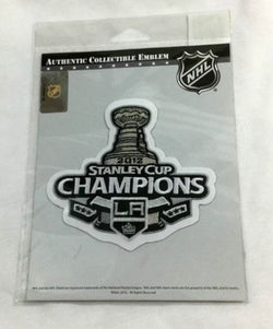 Official 2012 Stanley Cup Champions Los Angeles Kings Jersey Patch FREESHIP