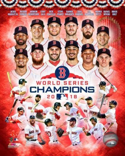 Boston Red Sox 2018 World Series Champions Picture Photo 8x10 Collage FREESHIP
