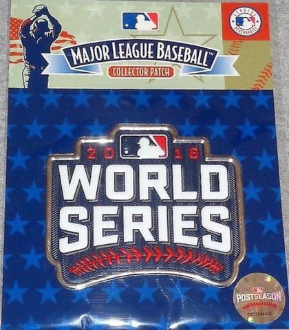 RARE 2016 World Series Jersey Patch Chicago Cubs Cleveland Indians Official