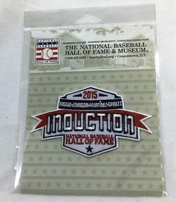 2015 Baseball Hall of Fame HOF Induction Patch Biggio Johnson Martinez Smoltz