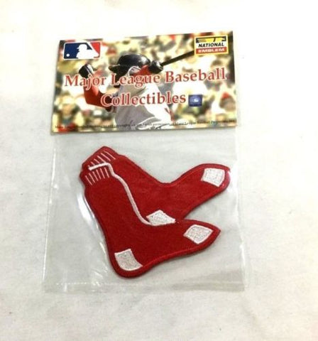 MLB Official Boston Red Sox Hanging Sox Logo Jersey Sleeve Patch Fenway FREESHIP