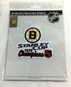 Have one to sell? Sell now Official 1972 Stanley Cup Champions Boston Bruins Jersey Patch Bobby Orr Great