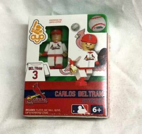 OYO Sports Figure Generation 1 St Louis Cardinals Carlos Beltran FREESHP