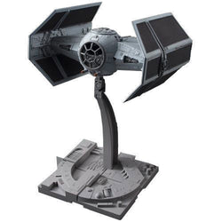 Bandai Star Wars Darth Vader Tie Advanced Plastic Model Kit Box Set 1/72 Scale