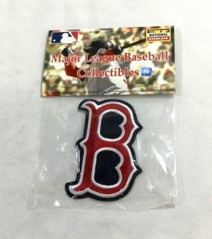 "MLB Official Boston Red Sox ""B"" Sox Logo Jersey Sleeve Patch Fenway FREESHIP"