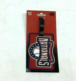 MLB Washington Nationals Luggage Tag Travel Bag ID Golf Tag FREESHIP
