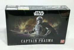 Bandai Star Wars Last Jedi Captain Phasma Plastic Model Kit Sealed 1:12 Scale