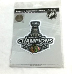 Official 2015 Stanley Cup Champions Chicago Blackhawks Jersey Patch FREESHIP