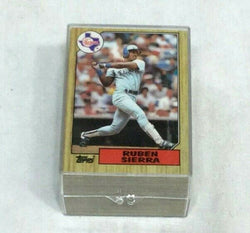 1987 Topps Baseball Ruben Sierra Rookie Rc Card 100 Piece Lot FREESHIP