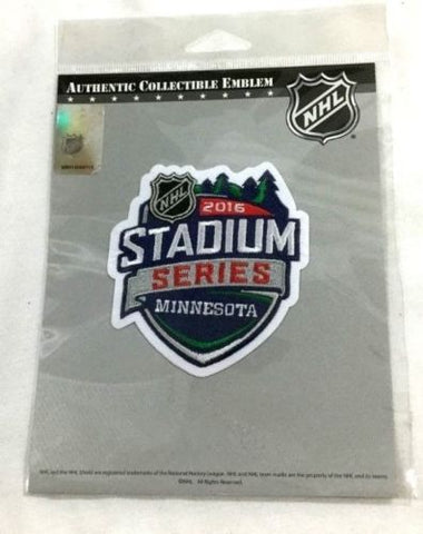 NHL 2016 Stadium Series Patch Detroit Red Wings Colorado Avalanche FREESHIP