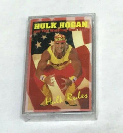 1995 Vintage Hulk Hogan Rules and the Wrestling Boot Band Cassette Tape Sealed