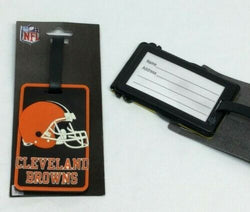 NFL Cleveland Browns Luggage Tag Travel Bag ID Golf Tag FREESHIP