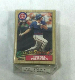1987 Topps Baseball Rafael Palmeiro Rookie Rc Card 100 Piece Lot FREESHIP