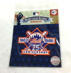 Have one to sell? Sell now - Have one to sell? Official 1986 New York Mets 25th Anniversary Jersey Patch Shea Stadium FREESHP