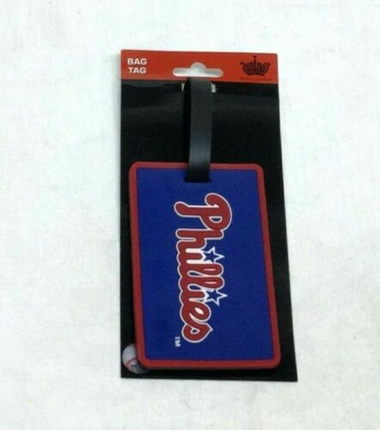 MLB Philadelphia Phillies Luggage Tag Travel Bag ID Golf Tag FREESHIP